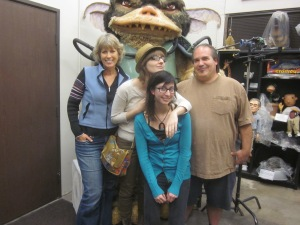Lauren and I with Rick and Deb Lazzarini.