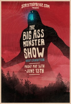 Sweet flyer for the show by Matthew Griffin.