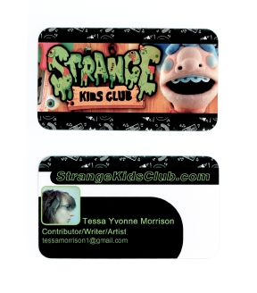 Strange Kids Club card