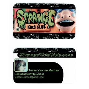 Strange Kids Club card