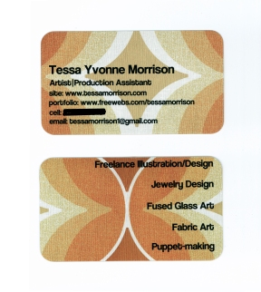My blog's card